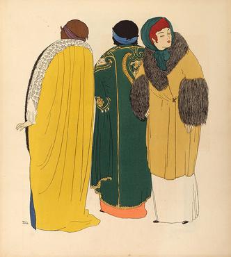 Фото №14 - Король стиля: как Поль Пуаре придумал «хромые юбки», освободил женщин от корсетов и заново изобрел моду