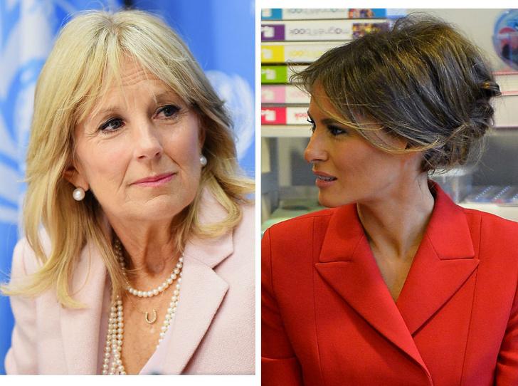 Фото №1 - Мелания Трамп vs Джилл Байден: чем похожи и чем отличаются две Первых леди США