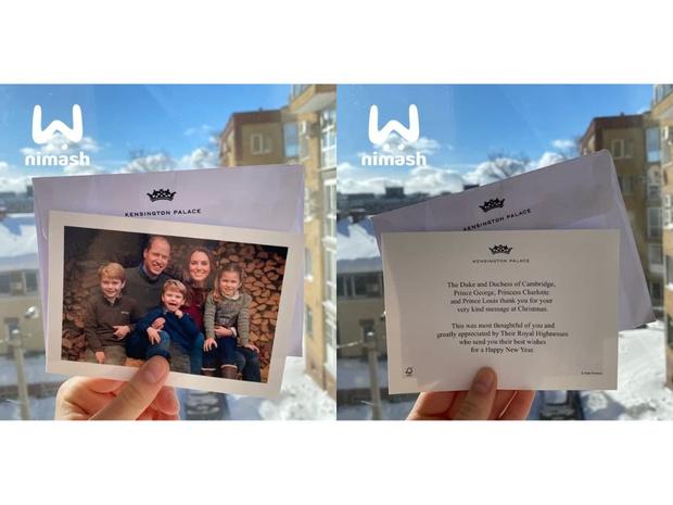 Фото №2 - Кейт Миддлтон и принц Уильям прислали школьнице из России открытку