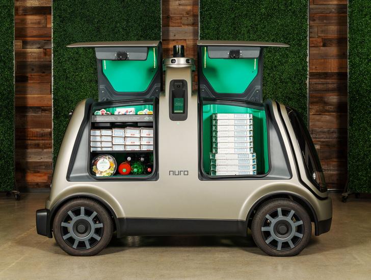 Фото №1 - В Калифорнии на дороги выпустили беспилотные автомобили для доставки еды