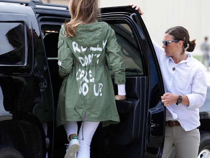 Фото №8 - Копия не верна: почему Мелании Трамп так и не удалось стать второй Жаклин Кеннеди