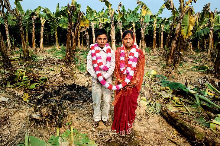 Фото №5 - Свадьбы народов мира: как выглядят молодожены Боливии, Японии, Лаоса и других стран