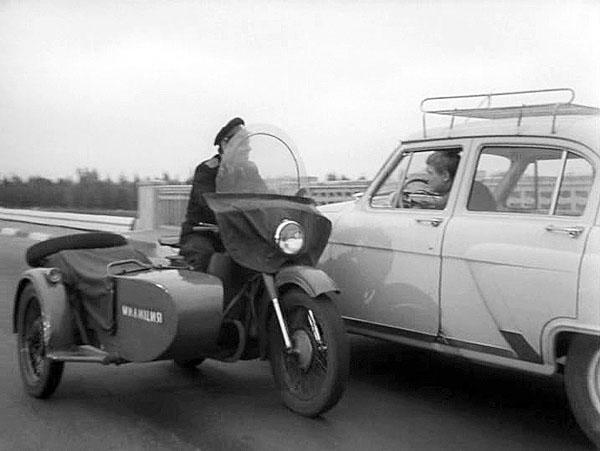 Фото №1 - Какой полисмен не любит быстрой езды!