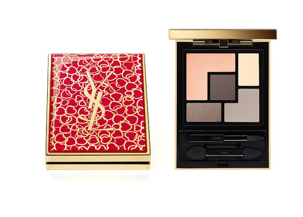 Палетка теней Couture Palette №4 Saharienne, Yves Saint Laurent