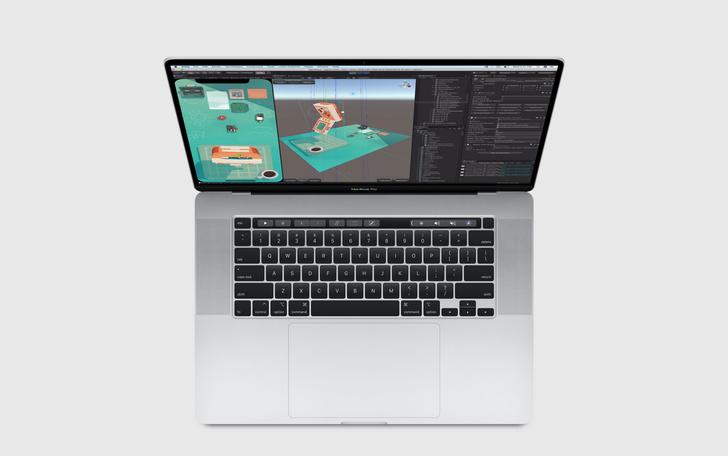 Фото №1 - Apple впервые за 4 года представила ноутбук с нормальной клавиатурой