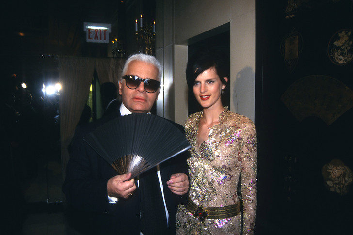 Фото №10 - Муза Лагерфельда и аристократка: какой была супермодель 90-х Стелла Теннант