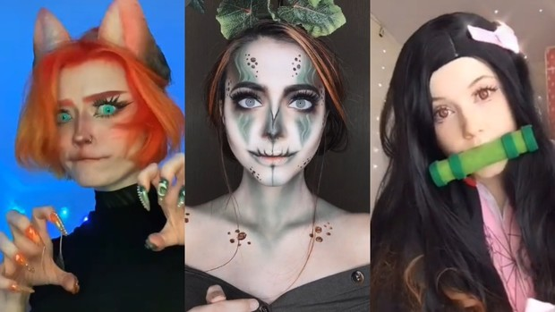 апчхи челлендж TikTok тик ток до после макияжа перевоплощение трансформация