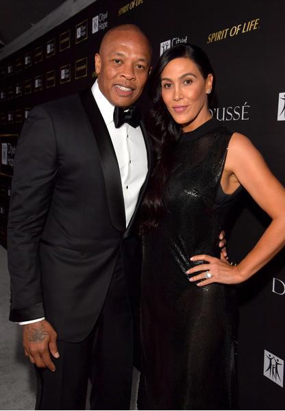 Фото №2 - Жена Dr. Dre разводится с ним после 24 лет брака и готовится делить 800 миллионов