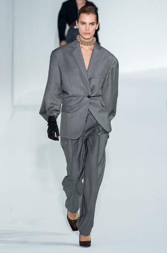 Фото №25 - От классики до сочных красок: лучшие костюмы с Недели моды в Нью-Йорке