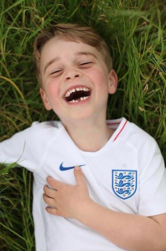 Фото №2 - Принц Джордж Кембриджский: шестой год в фотографиях