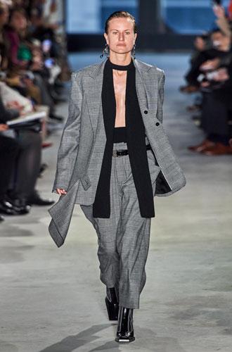 Фото №26 - От классики до сочных красок: лучшие костюмы с Недели моды в Нью-Йорке