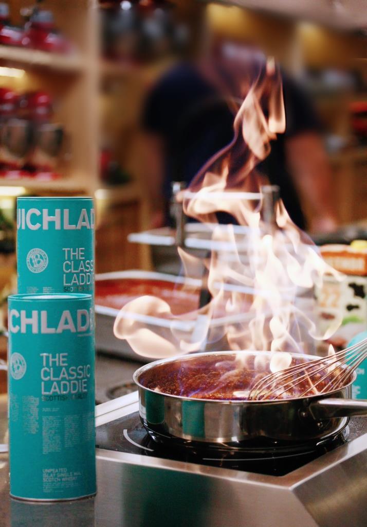 Фото №1 - Академия Primebeef приготовила шотландский бранч на основе виски Bruichladdich