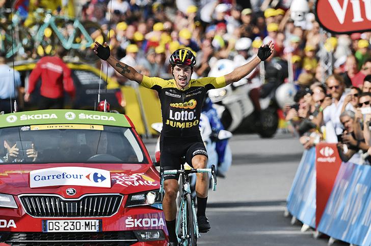 Фото №19 - Среди «горных королей»: репортаж с велогонки «Тур де Франс»