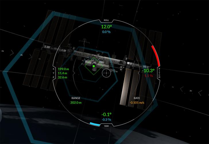 Фото №1 - SpaceX выпустила онлайн-симулятор корабля Dragon и МКС (играть)