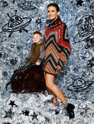 Фото №12 - Звездные мамы и дети в лукбуке H&M Studio Kids