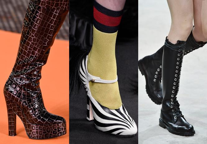 Фото №1 - Самая модная обувь сезона осень-зима 16/17, часть 1