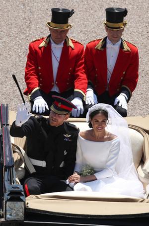 Фото №7 - Как был сделан самый известный свадебный снимок принца Гарри и Меган Маркл