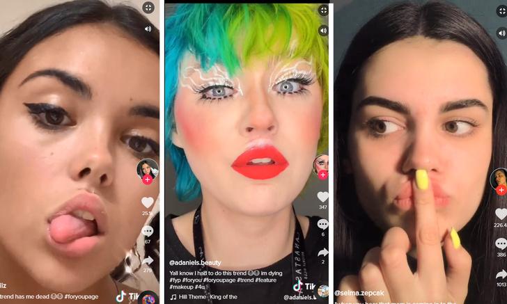 Фото №1 - Девушки делают себе чувственные губы с помощью клея: новый популярный челлендж развлекает Интернет (видео)