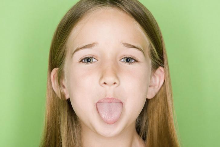 Цвет языка у ребенка