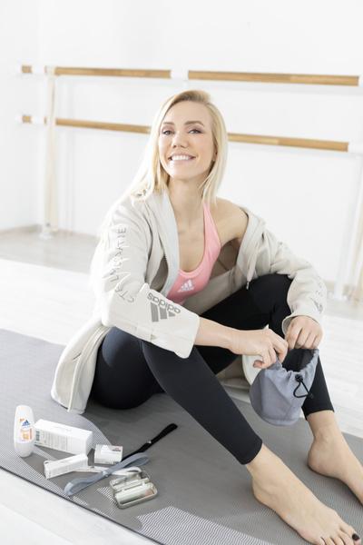 Фото №1 - Adidas и Елена Крыгина выпустили лимитированную коллекцию спортивных косметичек