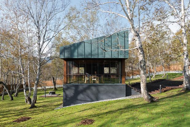 Фото №15 - Виллы на Камчатке: проект бюро Gikalo Kuptsov Architects