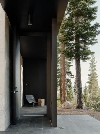 Фото №5 - Модернистский дом на горнолыжном курорте в Калифорнии