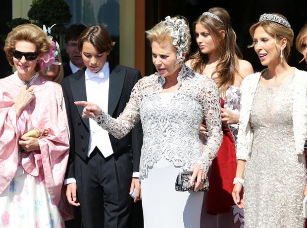 Фото №41 - Самые забавные моменты на королевских свадьбах (истории в фотографиях)
