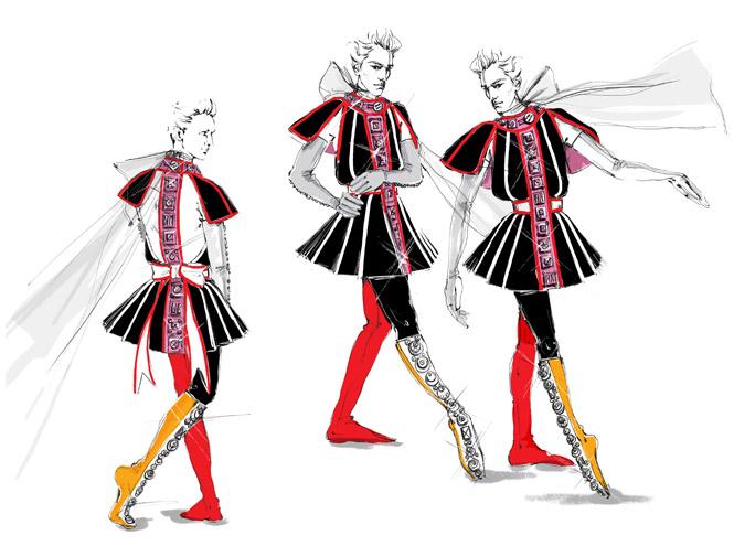 Фото №1 - Prada создали театральный костюм