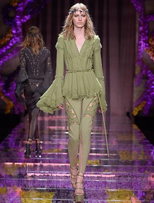 Фото №6 - Неделя Высокой Моды в Париже: Atelier Versace FW2015/16