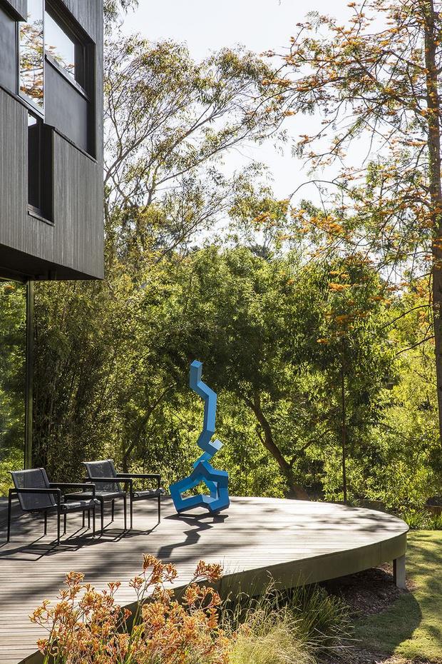 Фото №12 - Семейная вилла в зеленом пригороде Мельбурна