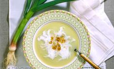 Суп с молодым чесноком