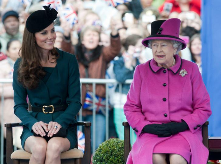 Фото №1 - Тайны Короны: особый договор, заключенный между Кейт и Королевой