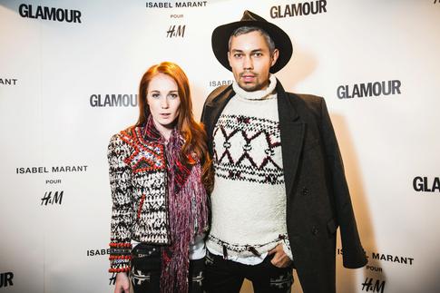 H&M, закрытый показ, Изабель Маран (Isabel Marant), Атриум