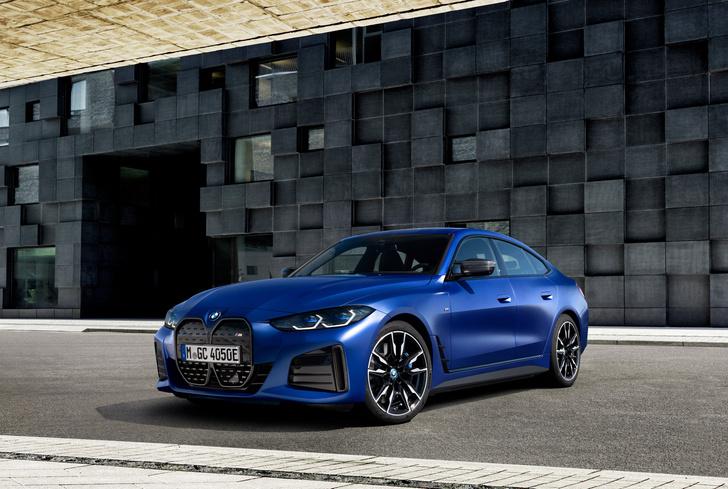 Фото №1 - Новый электрический BMW: симпатичные ноздри и музыка для пешеходов