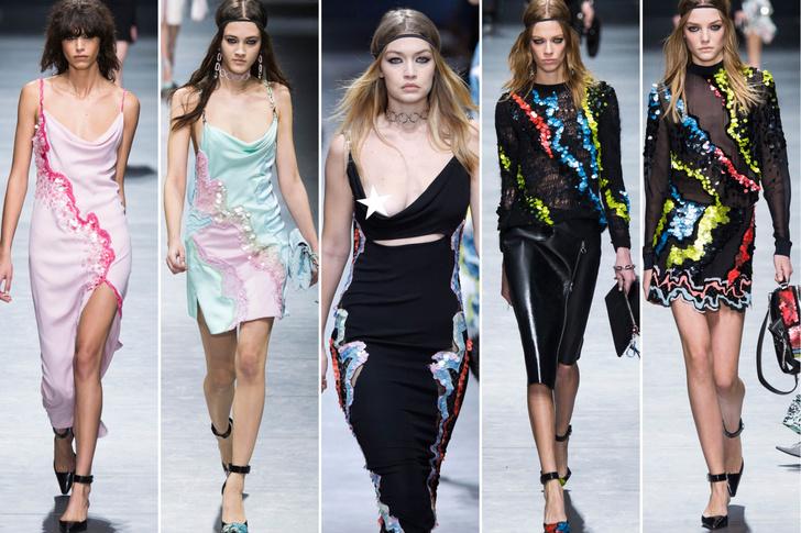Versace, осень-зима 2016/17
