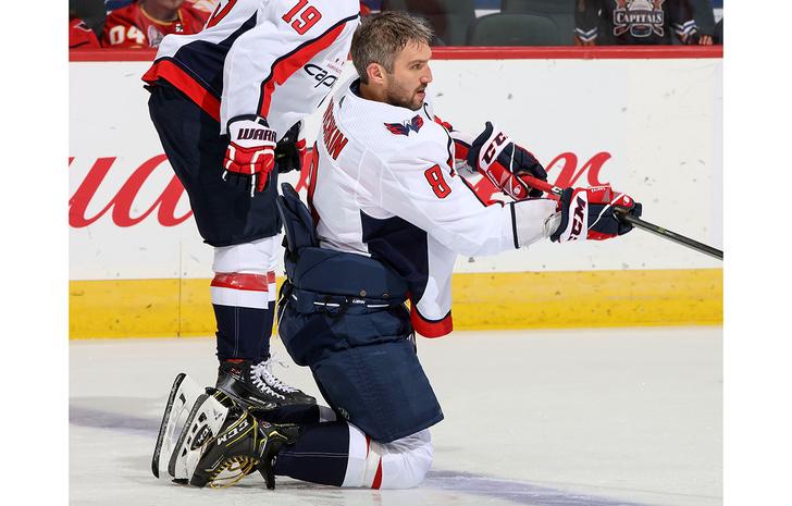 Фото №1 - 666-я шайба Овечкина в НХЛ. Дьявольски хороша (видео)