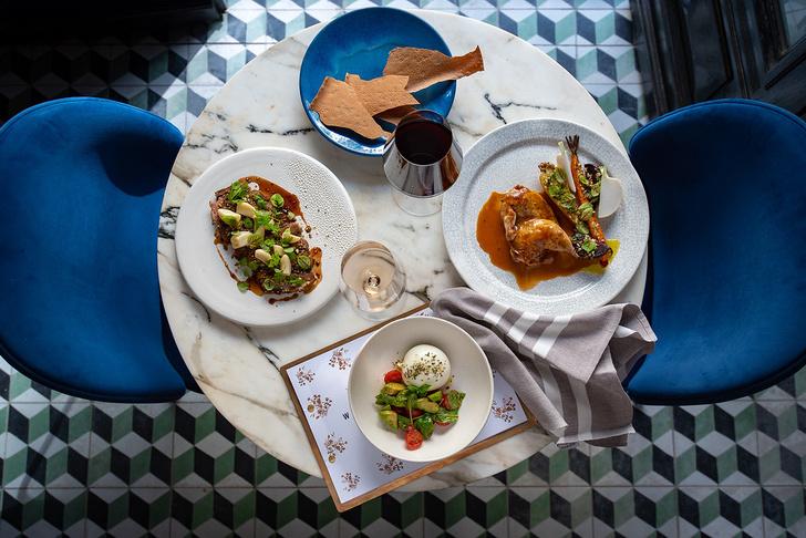 Фото №1 - Берлинский ресторан Арама Мнацаканова MINE снова попал в гид Michelin 2021