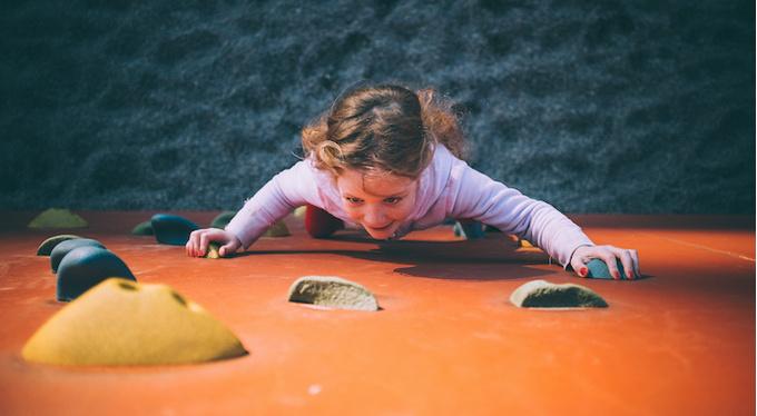 Скалолазание — особенный спорт для особенных детей