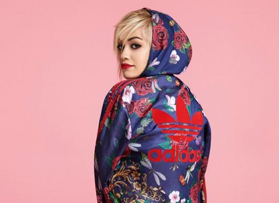 Фото №1 - Рита Ора представила цветочную коллекцию для adidas