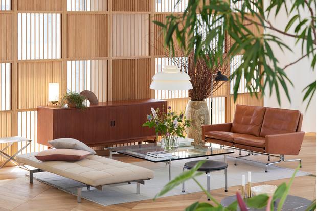 Фото №1 - Штаб-квартира Fritz Hansen в Токио по проекту Кенго Кумы