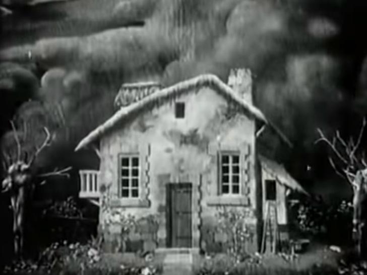 Фото №1 - 6-минутный фильм ужасов 1908 года с продвинутыми спецэффектами