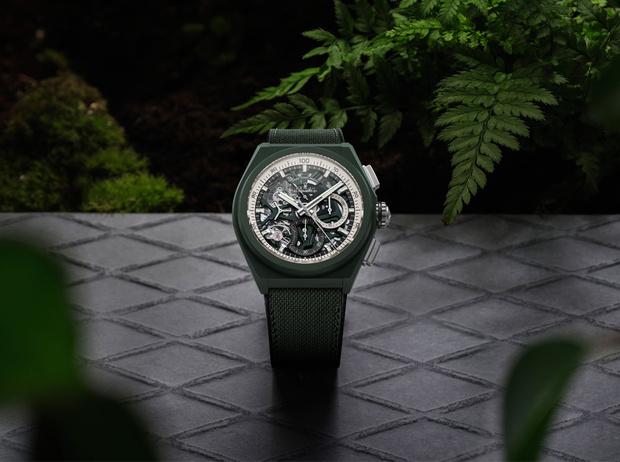 Фото №1 - Городские джунгли: Zenith представил новые часы в оттенке хаки