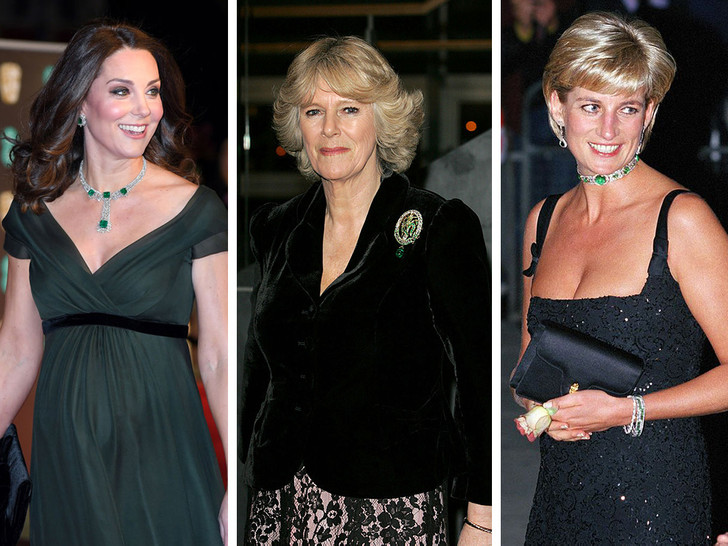 Фото №1 - Как королевские особы носят изумруды