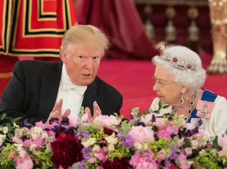 Фото №1 - Как прошел прием в честь Дональда Трампа в королевском дворце