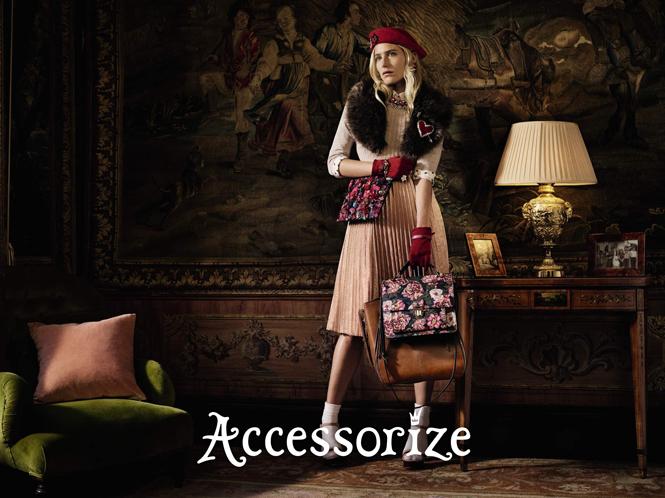 Фото №3 - Accessorize представляет новую рекламную кампанию с Дри Хемингуэй