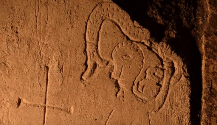 Фото №1 - В Переславле-Залесском найдено граффити XII века