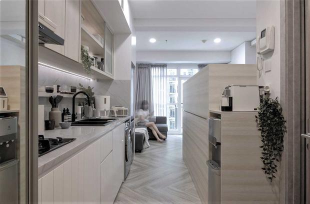 Фото №2 - Монохромная квартира 27 м² в Джакарте