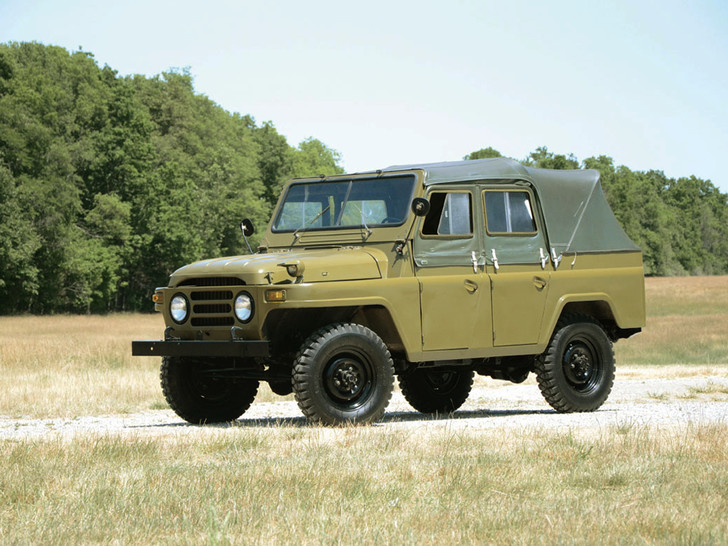 Фото №7 - Советские автомобили, которые выпускали за границей