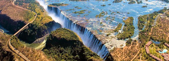 Замбези, Африка