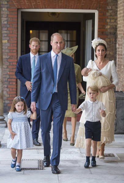 Фото №9 - Самые трогательные моменты крестин детей герцогов Кембриджских